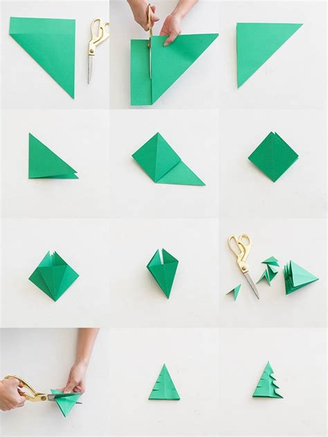 How To Make Paper Trees Step By Step - origami trees 183 how to fold an origami tree