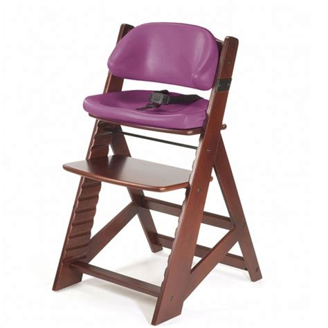 comfortable high chair keekaroo height right high chair mahogany comfort