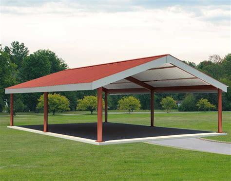 custom metal pavillion steel i beam single roof