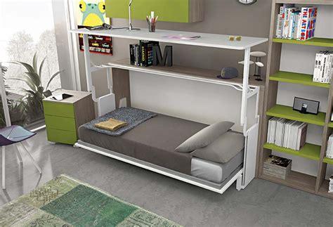 letto con scrivania a scomparsa letto e scrivania a scomparsa miu clever it