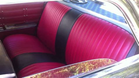 car upholstery for sale 1963 chevy impala update seat upholstery youtube