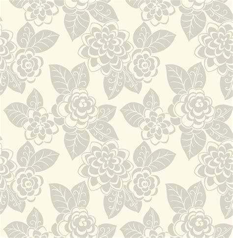 wallpaper grey floral grey flocked floral wallpaper