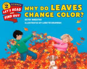 why leaves change color why do leaves change color by betsy maestro paperback