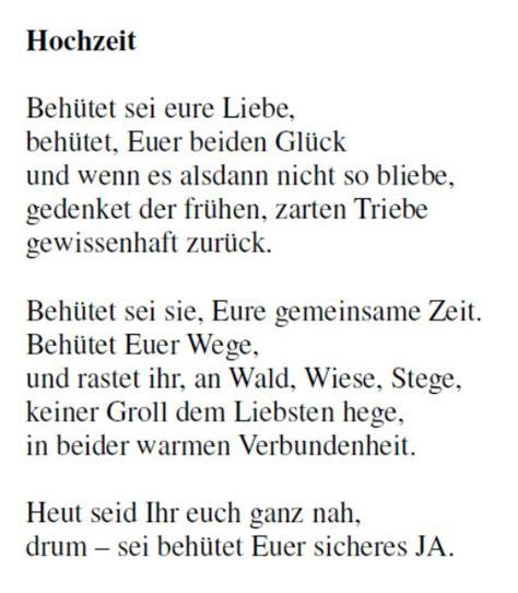 Hochzeit Gedicht by Gedichte Fur Die Hochzeit Die Besten Momente Der