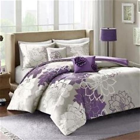 size bed cover comforter bedspread set size bed cover shams purple