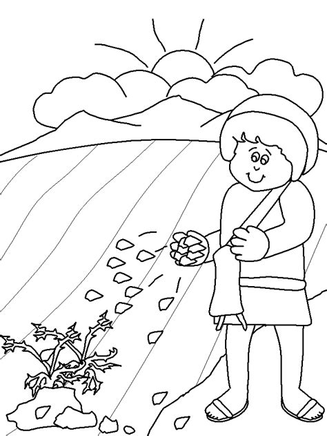 Desenhos Evangélicos para Colorir Imprimir