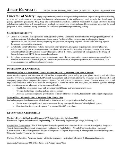 Great Resume Exles by Ehs Resume 28 Images Ehs Resume Sle Lovely Ehs Resume