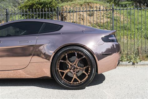 rose gold aston martin rose gold vantage