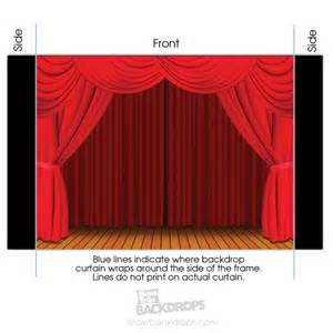 Portable Stage Curtains Curtain Portable Theater Backdrop Self Contained Set Up