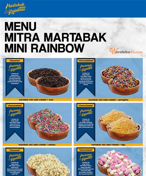 modal awal membuat martabak mini franchise martabak mini rainbow peluang bisnis makanan