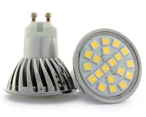 Gu10 Light Bulbs Led Gu10 4w Led Bulb With 20 X 5050 Smd Chips 40w 50w Halogen
