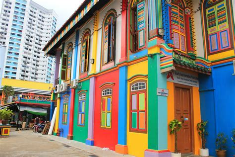 colorful buildings little india singapore on pinterest singapore india and