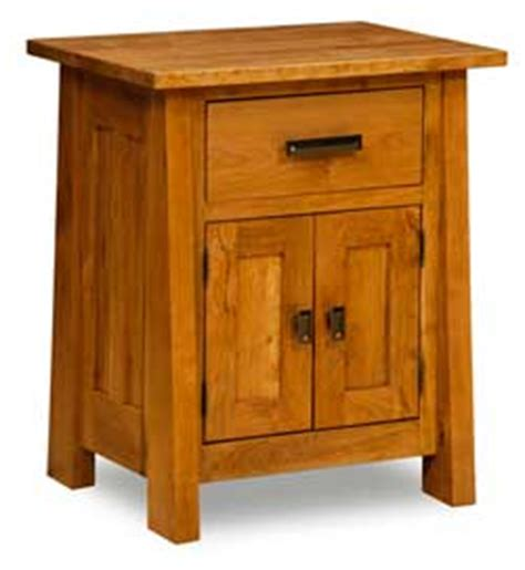 Country Mission Nightstand Amish Crafted - the wood loft amish custom crafted nightstands and