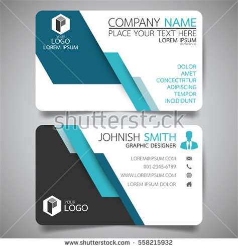 card name template vector name stock images royalty free images vectors