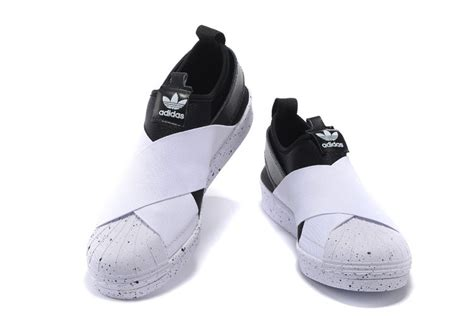 Adidas Superstar Slip On 4 sweet adidas superstar slip on originals running shoes black white trainers s81339 just buy it