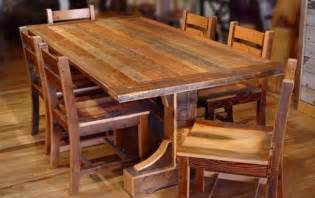 Pine Dining Room Furniture by Rustic Wooden Dining Room Tables Brown Varnishes Solid