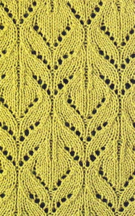 knit lace stitches lace knit pattern chart 1 tejidos con agujas