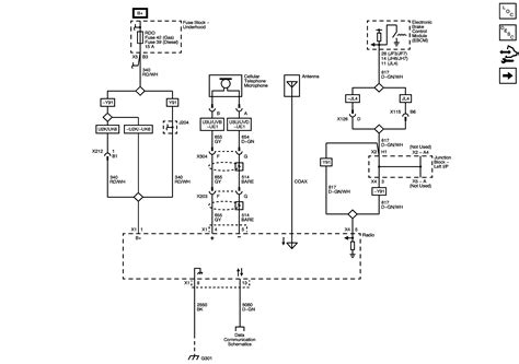 radio wiring diagram   chevy silverado standard cd