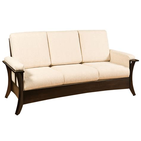 Amish Sofa amish sofas loveseats amish furniture shipshewana