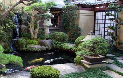 gardening landscaping backyard japanese garden ideas with waterfall pool backyard japanese