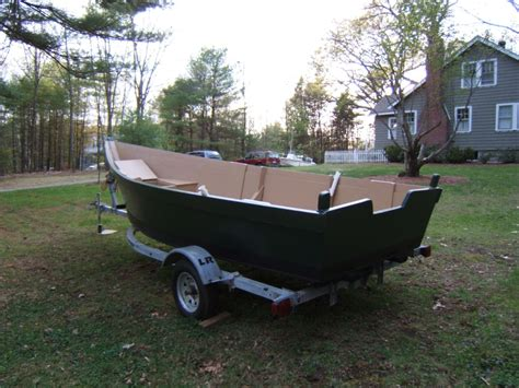 lobster boat skiff 18 lobster skiff and trailer the hull truth boating