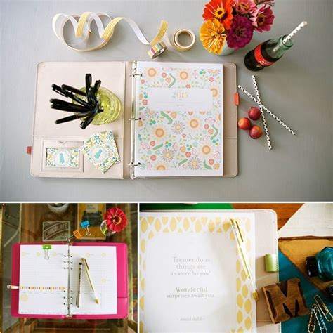free planner 2016 the handmade home