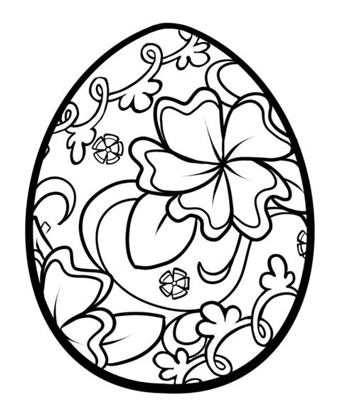 coloring easter eggs the gallery for gt easter egg coloring pages