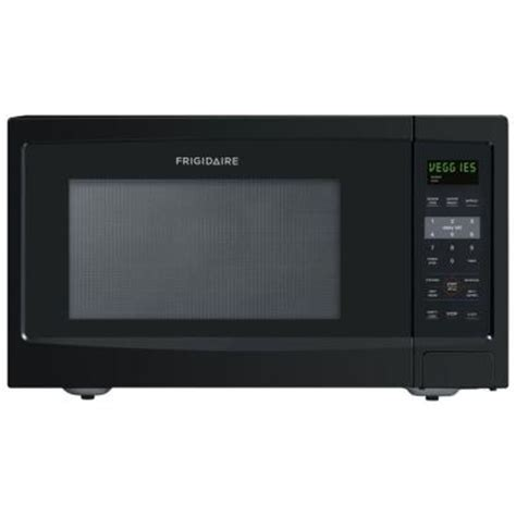 Home Depot Countertop Microwaves by Frigidaire 1 6 Cu Ft Countertop Microwave In Black