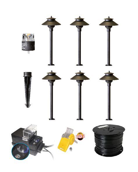 Landscape Lighting Kit Best Shop Led Landscape Lights Garden Lighting Diy Kit