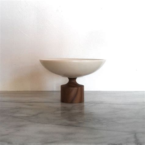 kleinreid emily pedestal bowl ceramics the foundry home