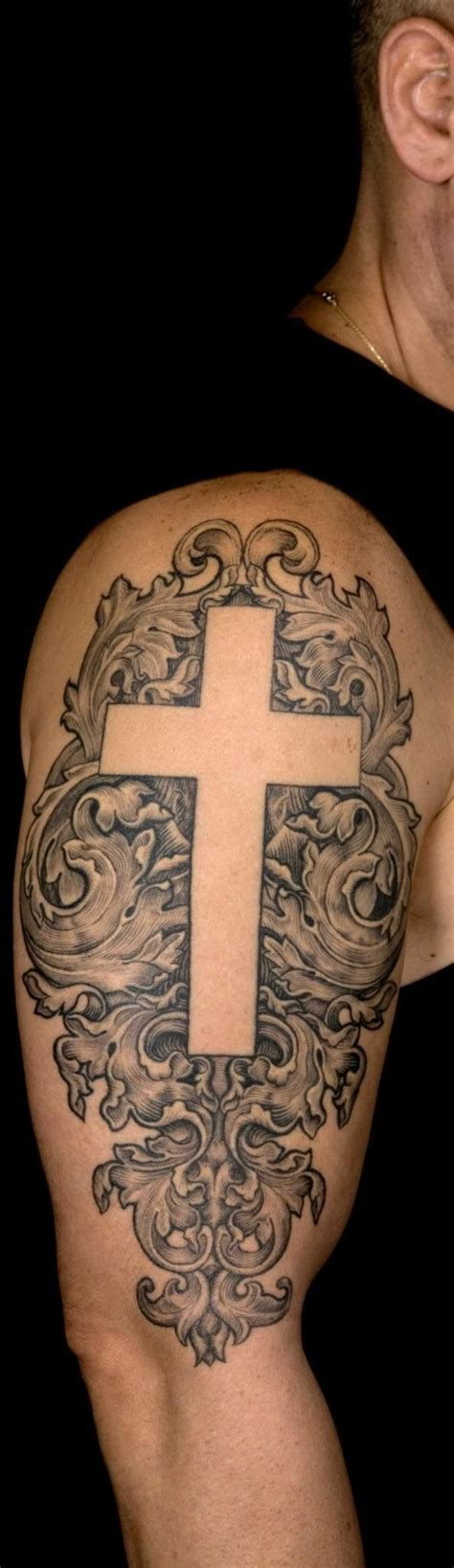 custom cross tattoos 17 best ideas about unique cross tattoos on