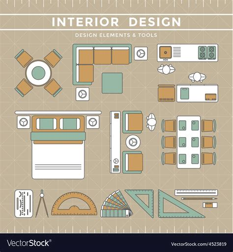 interior design elements icons stock vector art 165814827 interior design elements interior design ideas