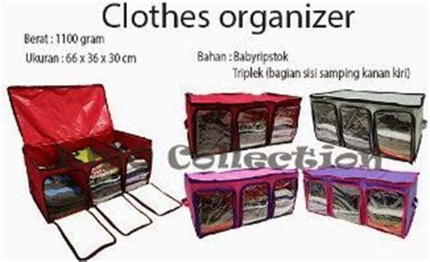 3 In 1 Cloth Organizer 1 Set Isi 3 Pcs Ukuran Berbeda clothes organizer co d rely shop