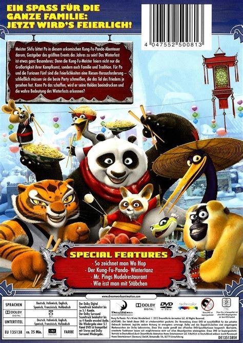 Kung Fu Panda 1 Tim Kung Fu kung fu panda ein schlagfertiges winterfest dvd oder