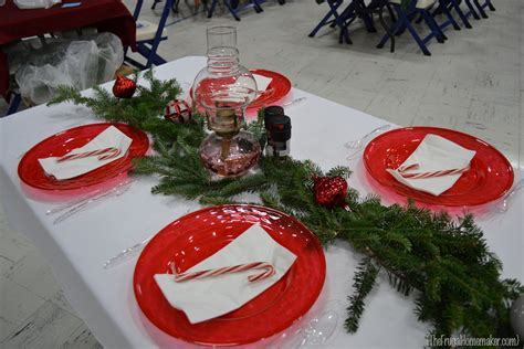 christmas banquet ideas dinner table ideas from our church s dinner celebration