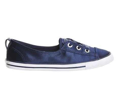 converse ballet sneakers lyst converse ctas ballet lace in blue