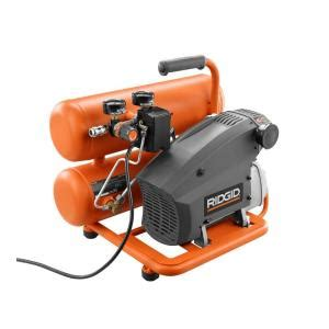 ridgid 4 gal stack air compressor ol40135ss the