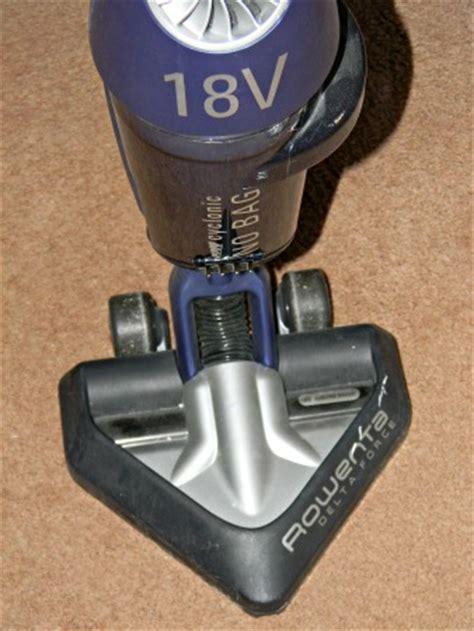 Rowenta 18v by Rowenta Delta 18v Cordless Bagless Stick Vacuum