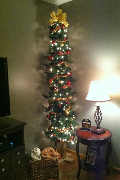 decorating skinny christmas tree diy why spend more make your own tree