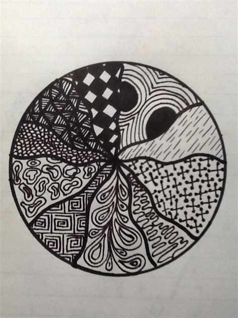 zentangle wave pattern art class online zentangle circular wave pattern by