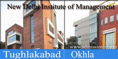 Ndim Delhi Mba Admission ndim tughlakabad new delhi institute of management mba