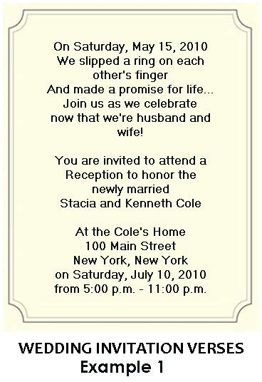 content for wedding reception invitation wording for wedding reception invitations
