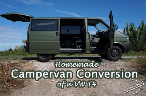 Kitchen Cabinets New York City homemade campervan conversion of a vw t4 seetheworldinmyeyes