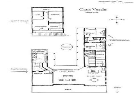hacienda style homes floor plans spanish hacienda floor plans with courtyards