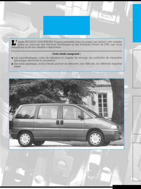 peugeot 806 workshop manual pdf