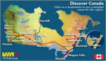 5 themes of geography toronto via rail canada via stations