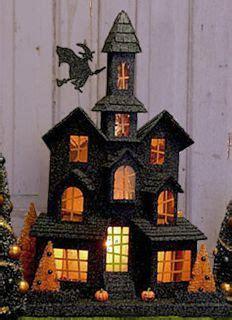 cardboard houses on pinterest cardboard houses putz houses and halloween house
