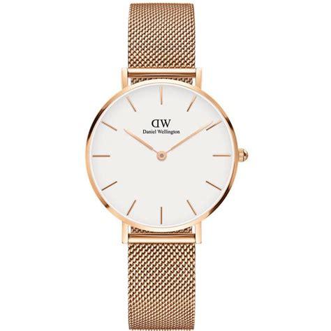 montre daniel wellington classic dw00100163 montre milanaise or femme sur bijourama