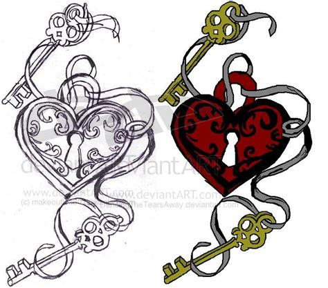 firmtacami key to my heart tattoo