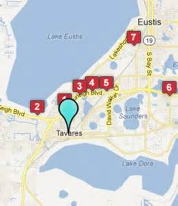 map tavares florida the holy land experience park info attractions